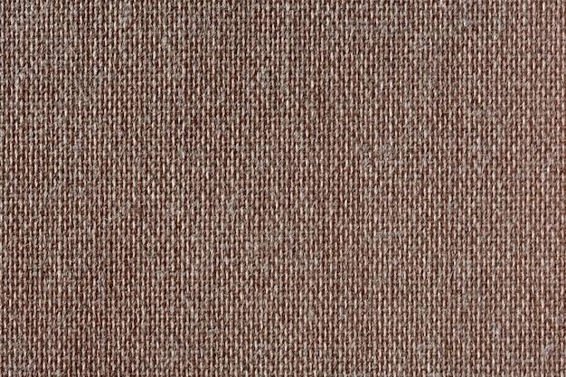 Textura de lona marrom. padrão. foto de alta resolução