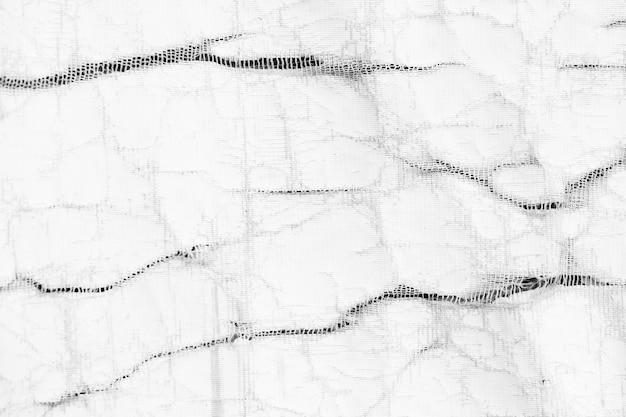 Textura de lona reciclada branca de caminhão