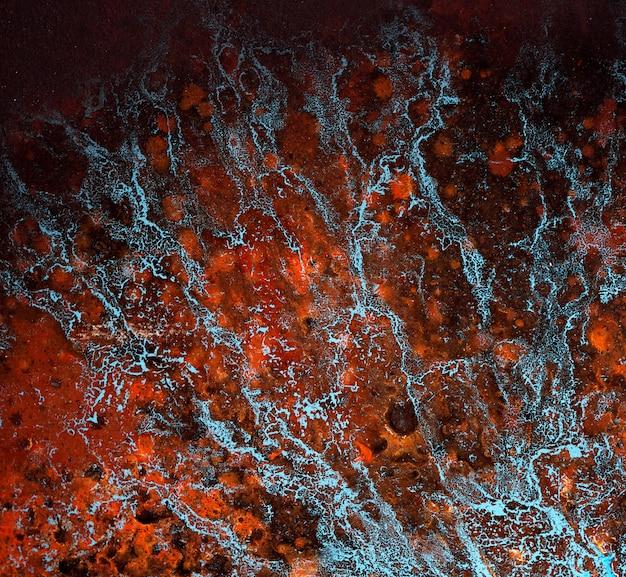Textura de mable que pinta o fundo abstrato com textura.