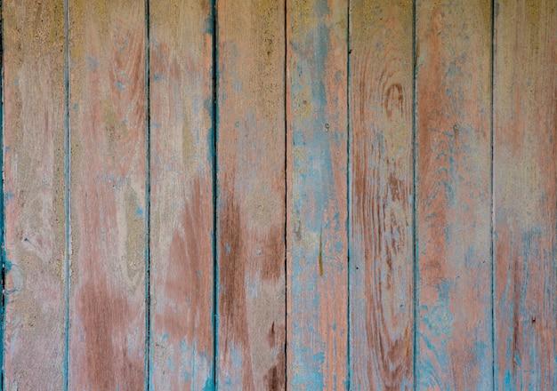 Textura de madeira azul do vintage com testes padrões naturais