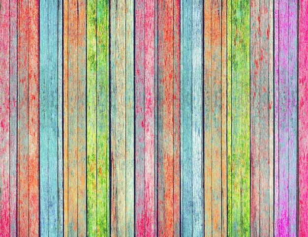 Textura de madeira colorida