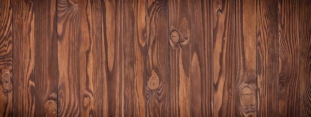 Textura de madeira com papel de parede de padrão natural, fundo de madeira marrom