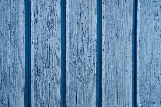 Textura de madeira de fundo de cor azul.