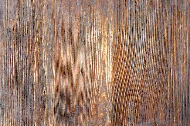 Textura de madeira envelhecida natural com a pintura e o verniz velhos.