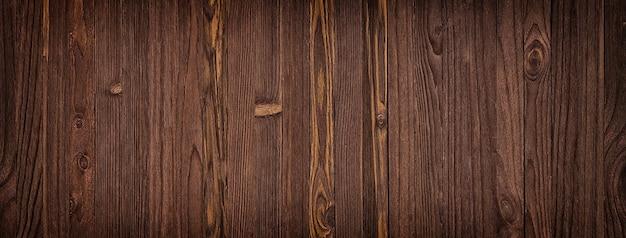 Textura de madeira escura, fundo vazio do piso de madeira ou mesa