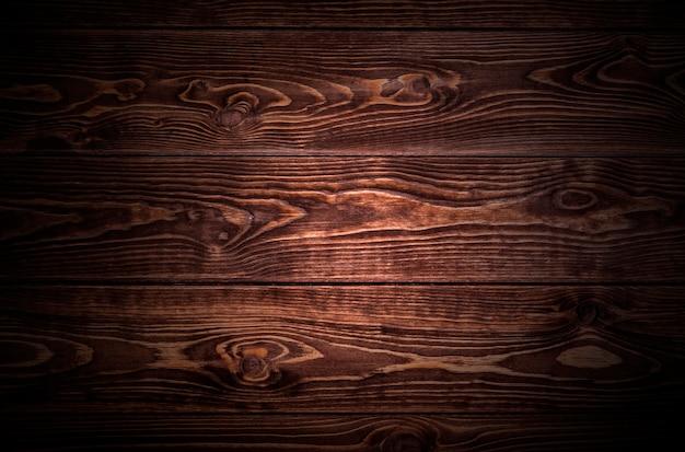 Textura de madeira escura