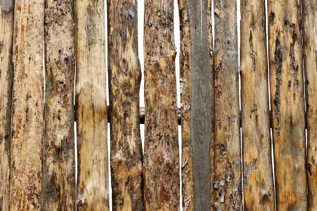 Textura de madeira natural. cerca velha