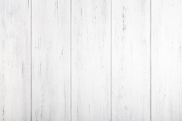 Textura de madeira pintada branca. fundo natural