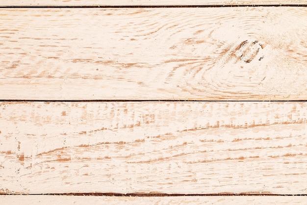 Textura de madeira pintada branca surrada resistida vintage
