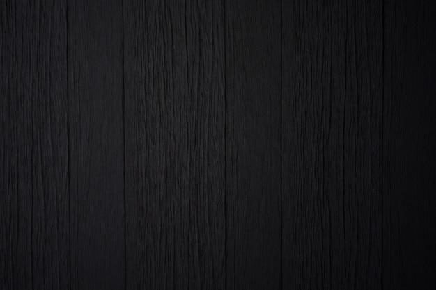 Textura de madeira preta ou fundo