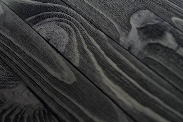 Textura de madeira preta