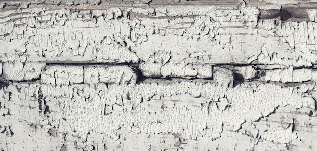 Textura de madeira rachada velha