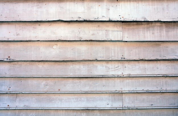 Textura de madeira velha pintada de branco usada como fundo natural