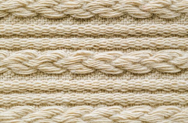 Textura de malha pulôver