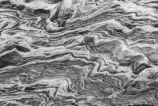 Textura de mármore preto e branco na natureza.