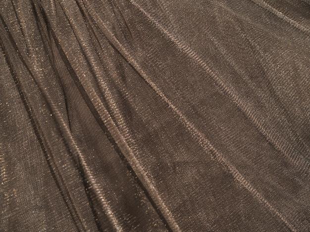 Textura de material marrom close-up