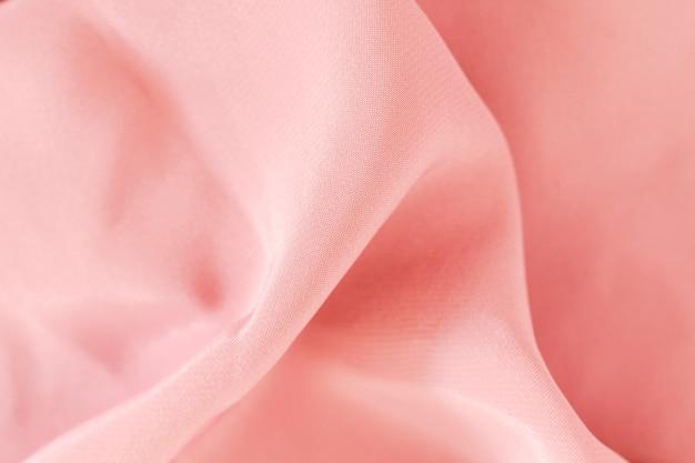 Textura de material suave tecido rosa elegante
