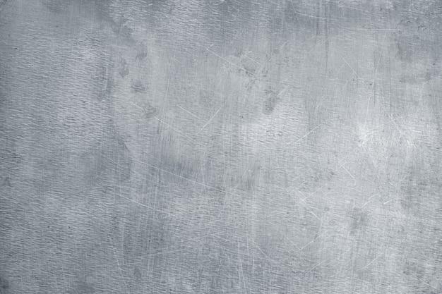 Textura de metal cinza claro, elemento de fundo de chapa de ferro