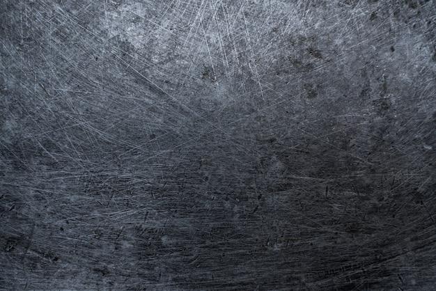 Textura de metal cinza. fundo riscado. parede velha suja da indústria. textura do grunge. foto