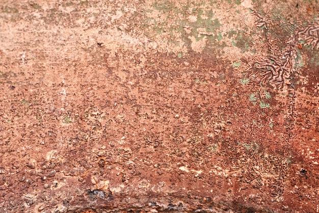 Textura de metal enferrujada velha. ferro abstrato grunge marrom