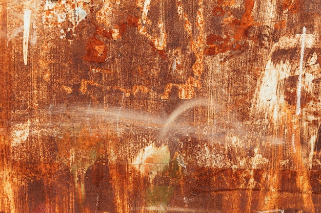 Textura de metal enferrujado com rebites