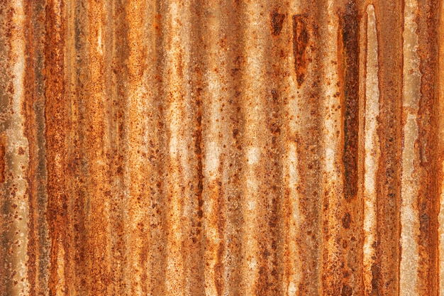 Textura de metal grunge na chapa de ferro galvanizado