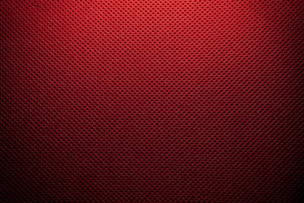 Textura de microfibra vermelha