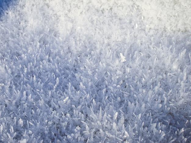 Textura de neve fresca, cena de inverno, fundo de neve.