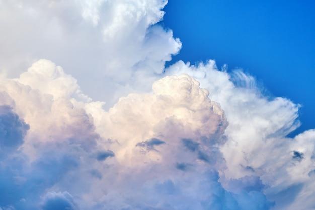 Textura de nuvens ao pôr do sol