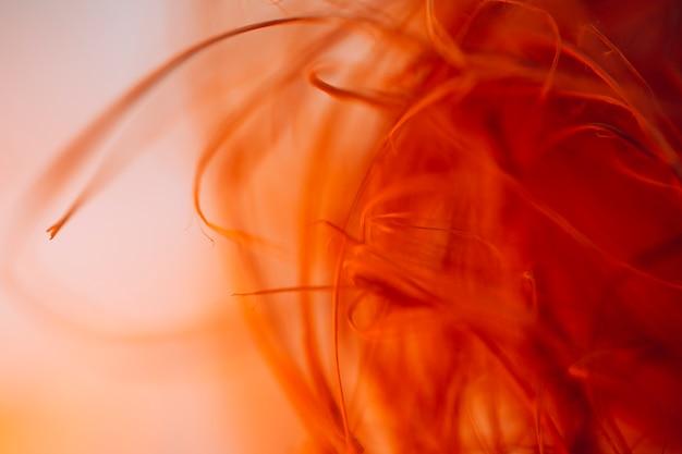 Textura de ondulação de fibras vermelhas