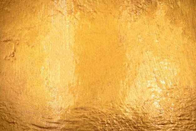 Textura de ouro com fundo de pedra