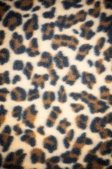 Textura de padrão de leopardo de pano.