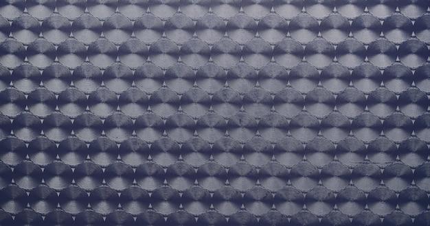 Textura de padrão de metal azul como pano de fundo.