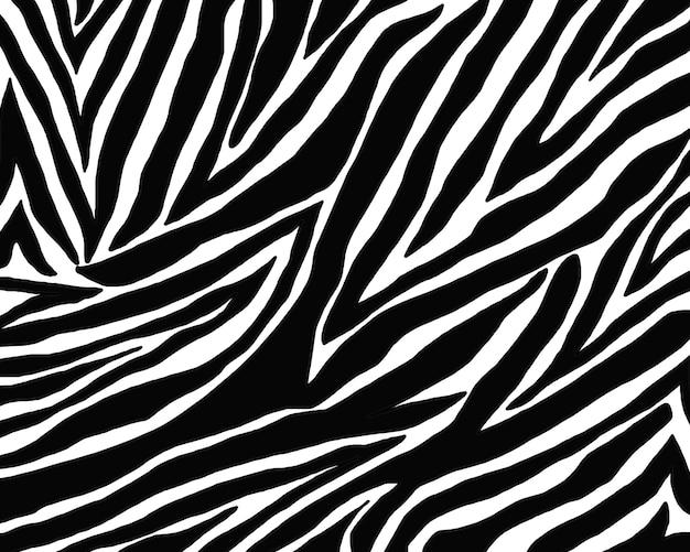 Textura de padrão de pele de zebra