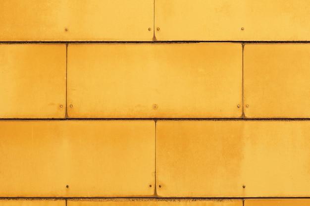 Textura de painéis industriais amarelos
