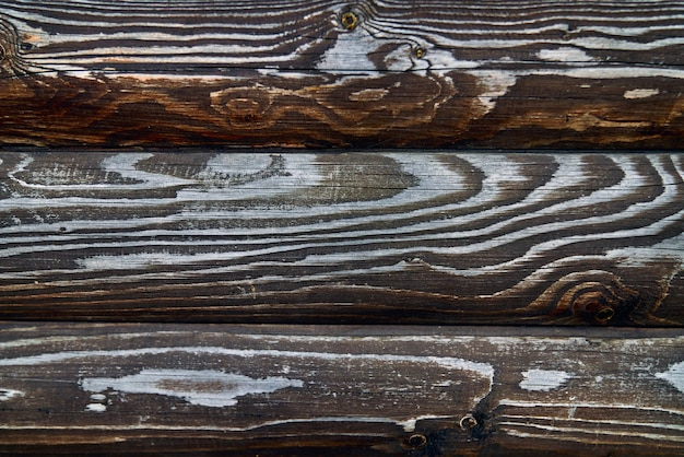 Textura de paletes de madeira marrons.