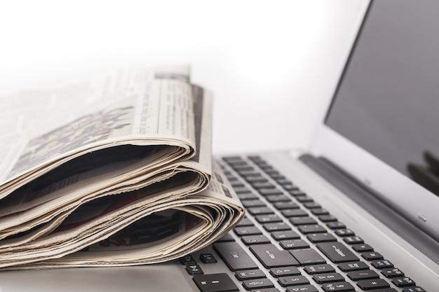Textura de pano de fundo de jornal, plano de negócios