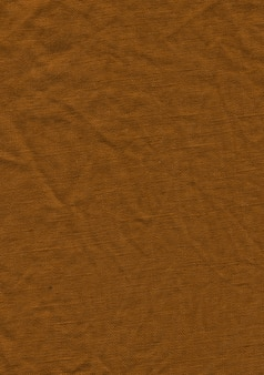 Textura de pano de linho marrom