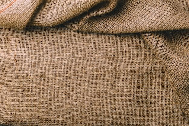 Textura de pano de saco