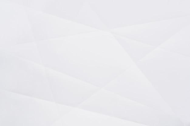 Textura de papel amassado branco para plano de fundo