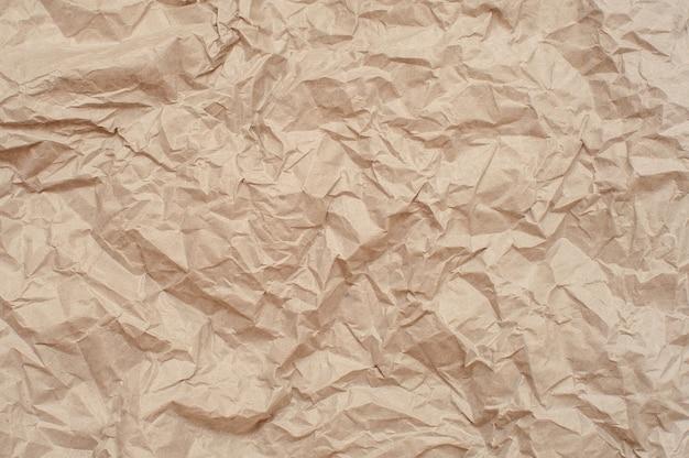 Textura de papel amassado. fundo