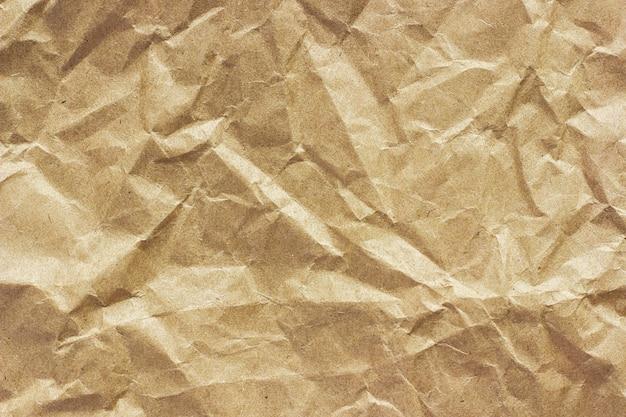 Textura de papel amassado grosseiro, plano de fundo