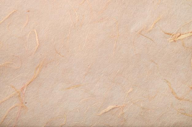 Textura de papel artesanal tradicional de amoreira