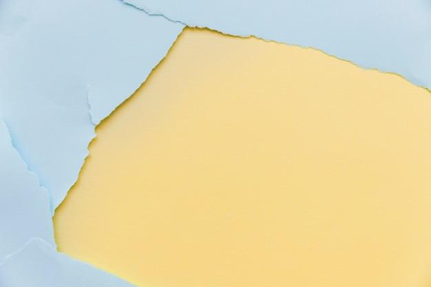 Textura de papel azul rasgada