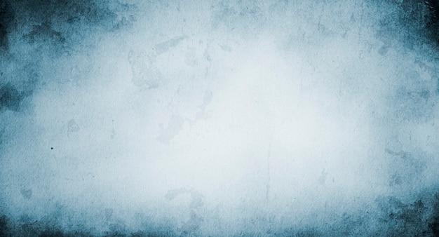 Textura de papel azul vintage com espaço de cópia e espaço de texto