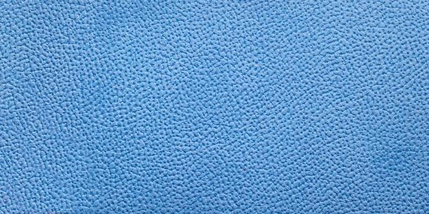 Textura de papel bonita. textura de pele artificial azul. textura de fundo
