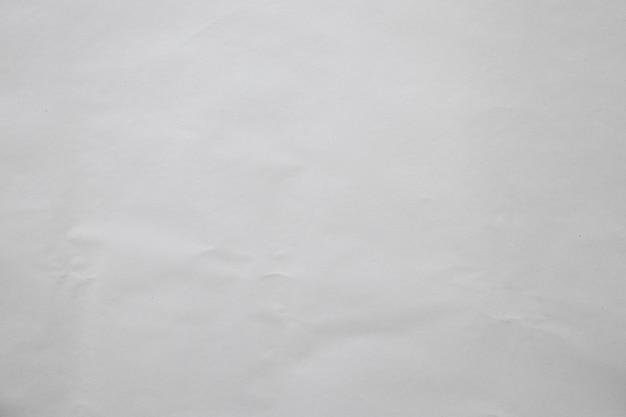 Textura de papel branco amassado velha