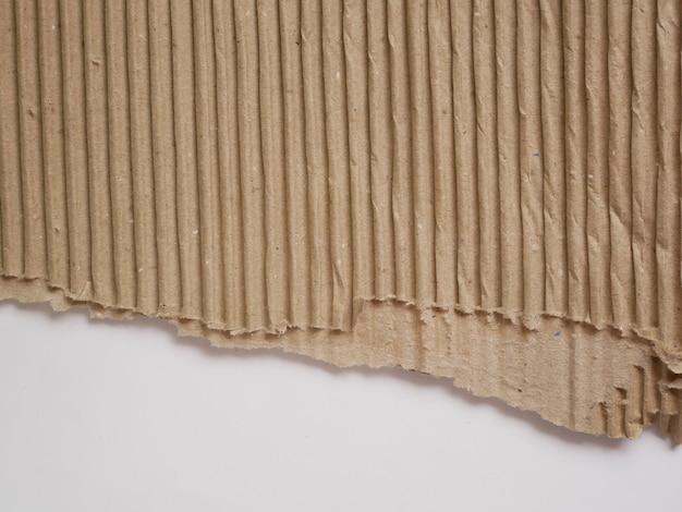 Textura de papel cartão marrom