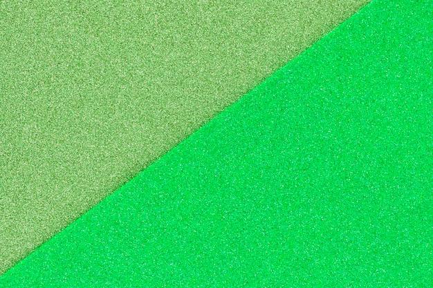 Textura de papel de areia verde brilhante
