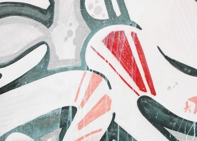Textura de papel de parede detalhe graffiti ou fundo